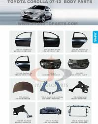 toyota corolla spares buy toyota second spare parts high quality manufacturers