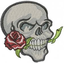 skull designs for embroidery machines embroiderydesigns com