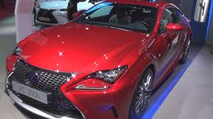 lexus rc 300 awd 2016 lexus rc 300h f sport executive 2017 exterior and interior in 3d