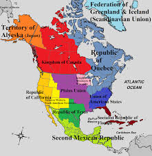 Map Of Nirth America by Map Of North America Land Of Empires By Padplay On Deviantart
