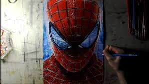 draw amazing spider man