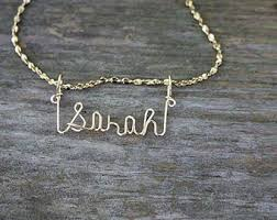 sted name necklace jewele name necklace handcrafted cursive name in script gold