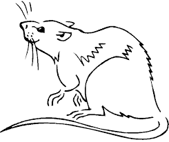 coloring pages good rat coloring pages mustache mouse