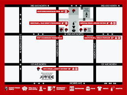 Tulip Festival Map Schedule U2014 Secret Stages Music Festival Birmingham Alabama