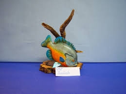 creative wood sculptures sunfish wood sculpture 5 creative wood carvings