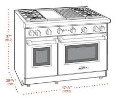 Wolf 48 Inch Gas Cooktop Wolf Gr484cg 48 Inch Gas Freestanding Range With Sealed Burner