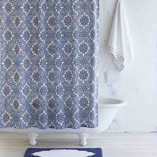 Shower Curtain Indigo Petra Shower Curtain