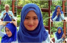 tutorial memakai jilbab paris yang simple tutorial hijab paris simple terbaru yang cantik dan menarik