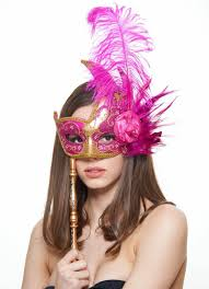 masquerade masks swan masquerade mask with feathers in 12 colors