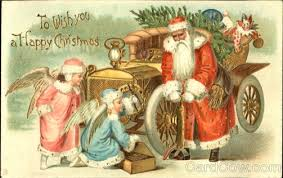 retro christmas cards beauty will save viola beauty in everything