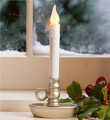 holiday window candle lights window candle 4 pack holiday lighting plow hearth