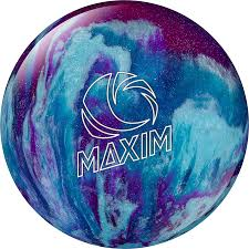 maxim purple royal silver polyester balls ebonite