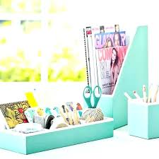 Blue Desk Accessories Teal Desk Accessories Interque Co