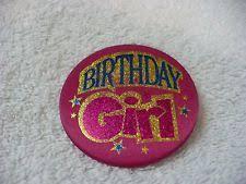 birthday girl pin birthday girl badge pin ebay