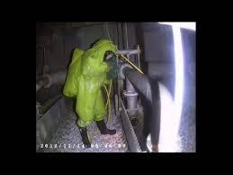 hazmat suit halloween costume acid tower inspection in green hazmat suit slo mo youtube