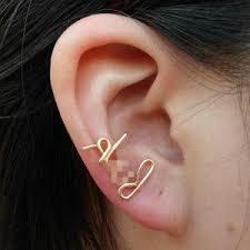 cool cartilage earrings these ear piercing ideas ecuatwitt