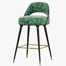 3d model essential home collins bar chair cgtrader