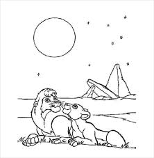 lion drawing template u2013 15 free pdf documents download free