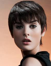 short hairstyles with a lot of layers very short haircut with long bangs and lots of layers