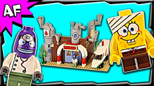 lego spongebob emergency room 3832 stop motion build review youtube