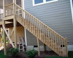 Handrail Designs For Stairs Common Deck Stair Defects Professional Deck Builder Staircases