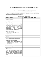 volunteer report template after report template template business