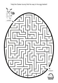 printable hard maze games free online printable kids games easter egg hunt maze easter