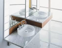 Wall Mounted Bathroom Cabinet Bathroom Ideas Chrome Kohler Bathroom Faucets Above Double Sink
