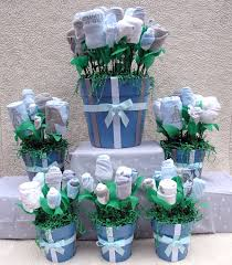 baby shower centerpieces boys baby shower centerpieces ideas for boys blue towel flower