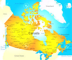 map of southeast canada map of southeast canada eastern canada simple map southeast