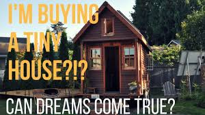 Rent A Tiny Home I U0027m Buying A Tiny House Minimalism Frugal Living Youtube