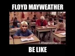 Floyd Meme - floyd mayweather back in highschool youtube