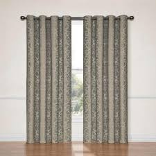 Blackout Window Curtains Eclipse Curtains Nadya Grommet Blackout Window Curtain Panel