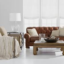 Pictures Of Living Rooms With Leather Chairs Shop Living Rooms Ethan Allen