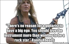 Big Ego Meme - there s no reason for a guitarist to have a big ego you should