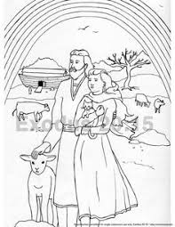 flood coloring pages something for the children 10 goose and goslings coloring page