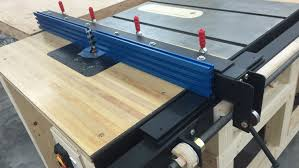 Ridgid Table Saw Extension Router Table Fence For Table Saw Youtube