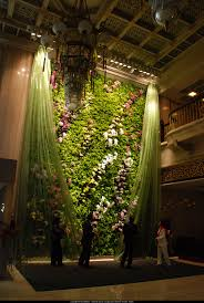 vertical garden art tablescapes backdrops and floral