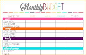 9 monthly budgeting worksheets newborneatingchart