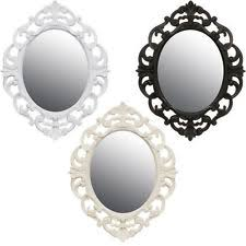 Cheap Shabby Chic Mirrors by Oval Mirror Ebay