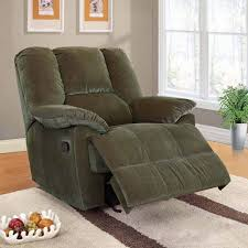 oliver collection corduroy glider recliner multiple colors