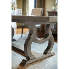 French Marble Dining Table Michelle French Country Grey Oak Inlaid Extendable Dining Table