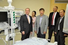Krankenhaus Bad Oeynhausen Gäste Aus China Im Hdz Nrw Bad Oeynhausen In Der Provinz Jiangsu