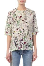 printed blouse adrianaonline com m missoni multicolour printed blouse tops
