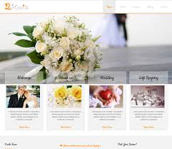 wedding planning website 20 of the best free wedding html templates
