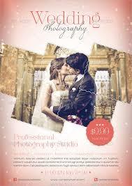 wedding photography flyer template wedding photography flyer