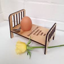 Breakfast In Bed Table by Personalised Breakfast In Bed Egg Cup By Auntie Mims