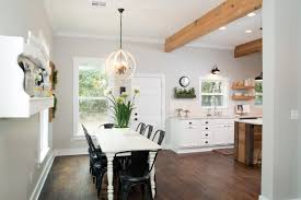 Beginner Beans Simple Dining Room And Kitchen Tour Question And Answer With Fixer Upper Carpenter Clint Harp Diy