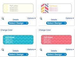 vistaprint return address labels personalized 140 shipping labels