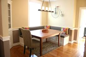 dining table dining table ideas traditional banquette in the